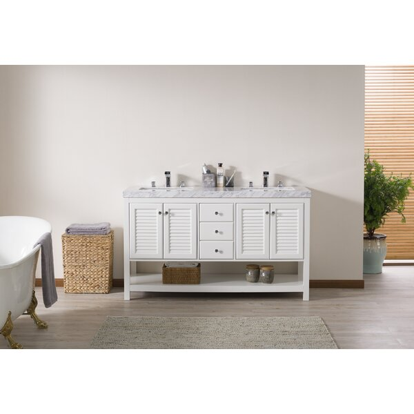 Clifford 60 Double Bathroom Vanity Set