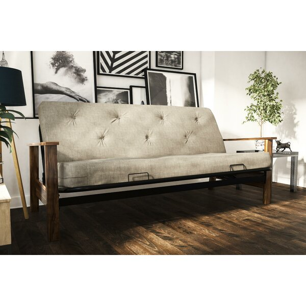 Medellin Futon and Mattress by Red Barrel Studio