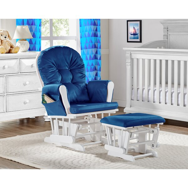 Mason Glider And Ottoman By Suite Bebe