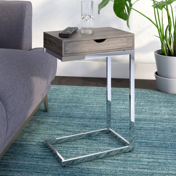 Review Glendo End Table With Storage