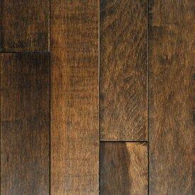 Muirfield 3 Solid Maple Hardwood Flooring in Cappuccino by Mullican Flooring