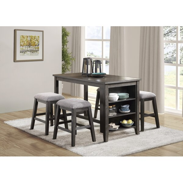 Rozella 5 Piece Counter Height Dining Set by Gracie Oaks Gracie Oaks