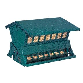 Absolute II Double Sided Hopper Bird Feeder by Heritage Farms