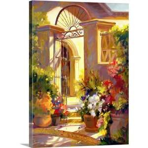 Fragrant Entrance by Betty Carr Painting Print on Wrapped Canvas by Great Big Canvas