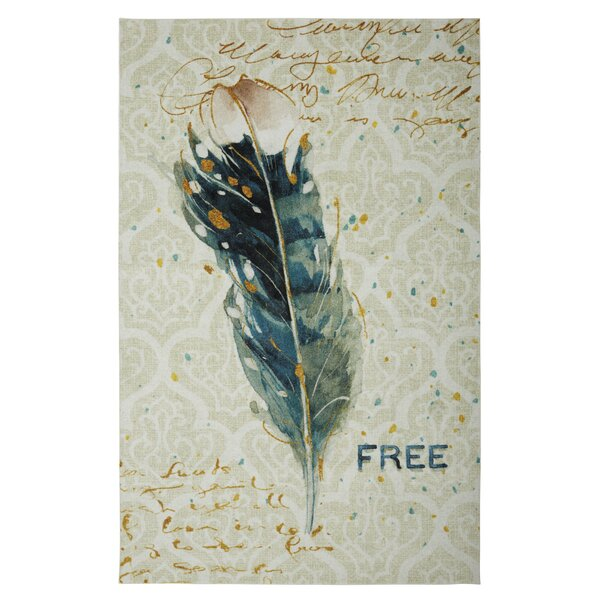 Engler Free Feather Ivory Area Rug by Bungalow Rose