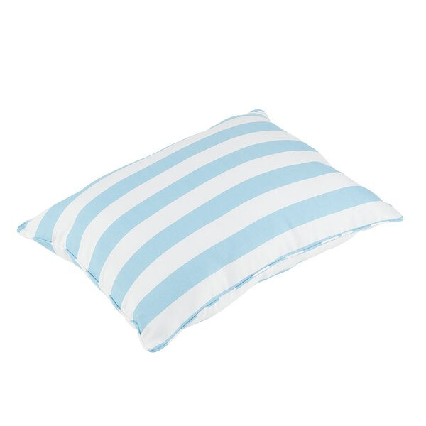 Halliday Piped Edge Indoor/Outdoor Floor Pillow by Rosecliff Heights