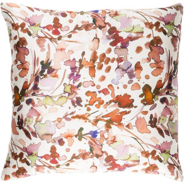 Alastair Silk Throw Pillow by Brayden Studio