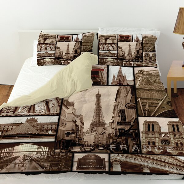 France Duvet Cover by Manual Woodworkers & Weavers