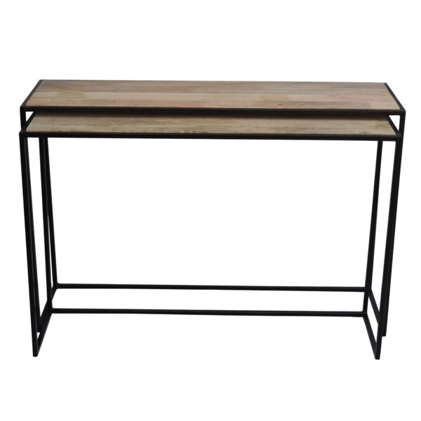 Pryor 2 Piece Console Table Set by 17 Stories
