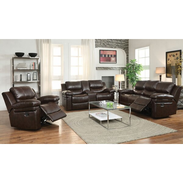 Best Price Bramley 3 Piece Reclining Living Room Set