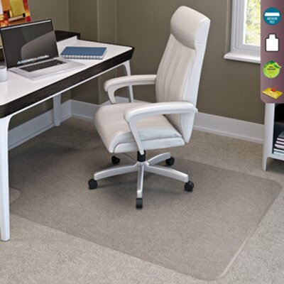SuperMat Medium Pile Carpet Beveled Edge Chair Mat by Deflect-O Corporation