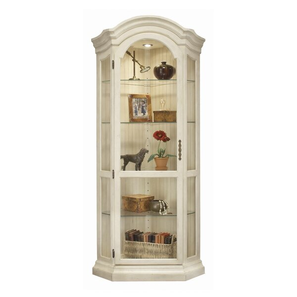 Shelia Corner Curio Cabinet by Darby Home Co
