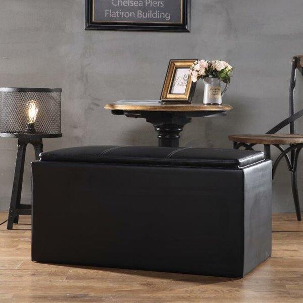 Adena Upholstered Storage Bench by Ebern Designs