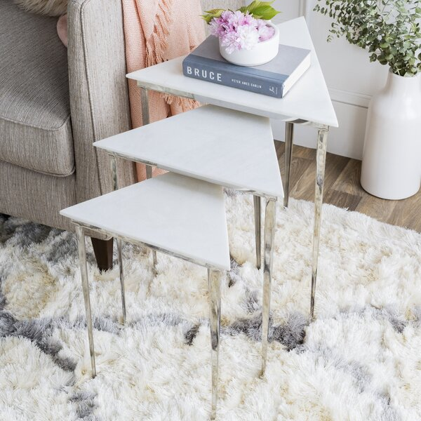 Arianna Nesting Tables (Set of 3) by Orren Ellis