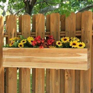 Teak Window Box Planter by Diamond Teak