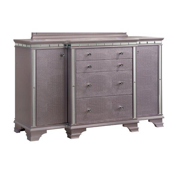 Merauke 4 Drawer Combo Dresser by House of Hampton House of Hampton