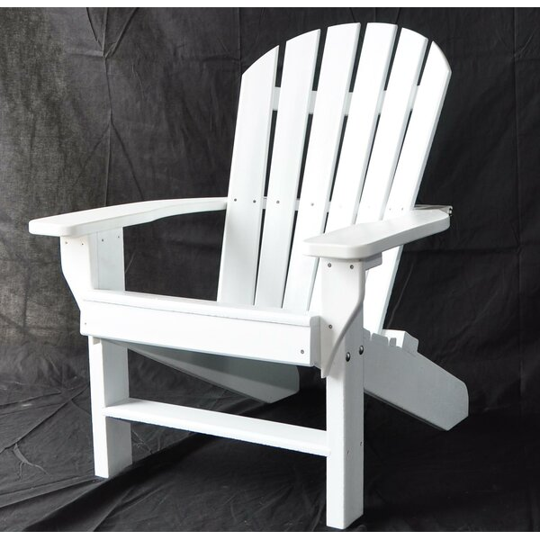 Seaside Plastic Adirondack Chair by Frog Furnishings