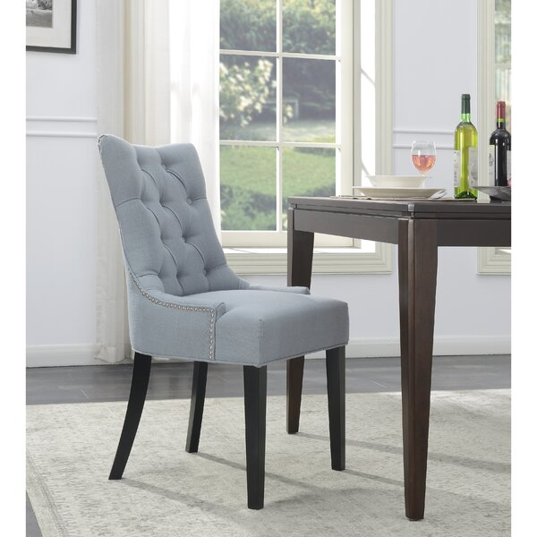 Upholstered Dining Chair by Alcott Hill