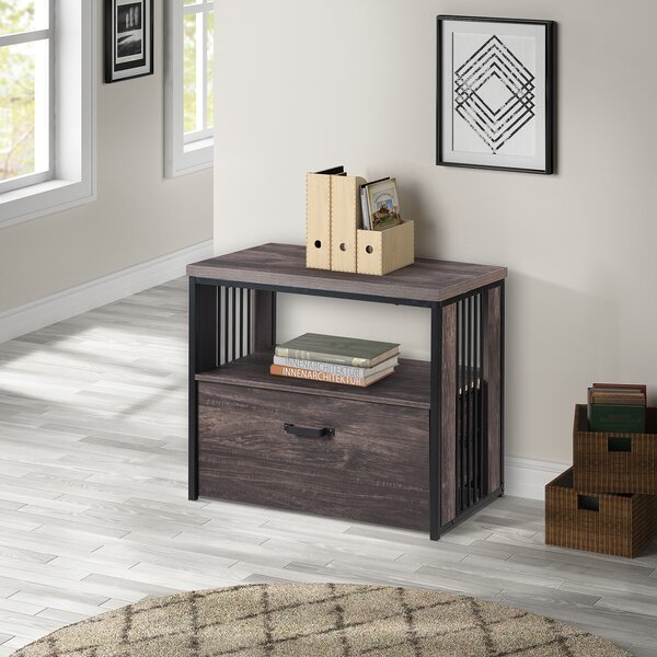 Canady Home Office 1-Drawer Lateral Filing Cabinet