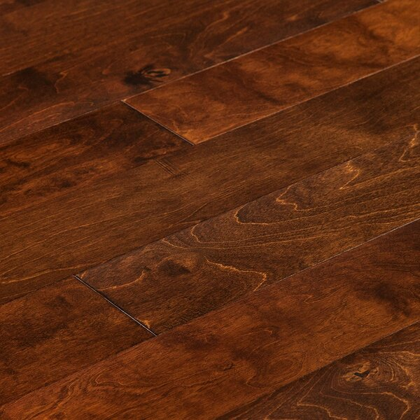 5 Engineered Birch Hardwood Flooring in Texas Brown by Myfuncorp