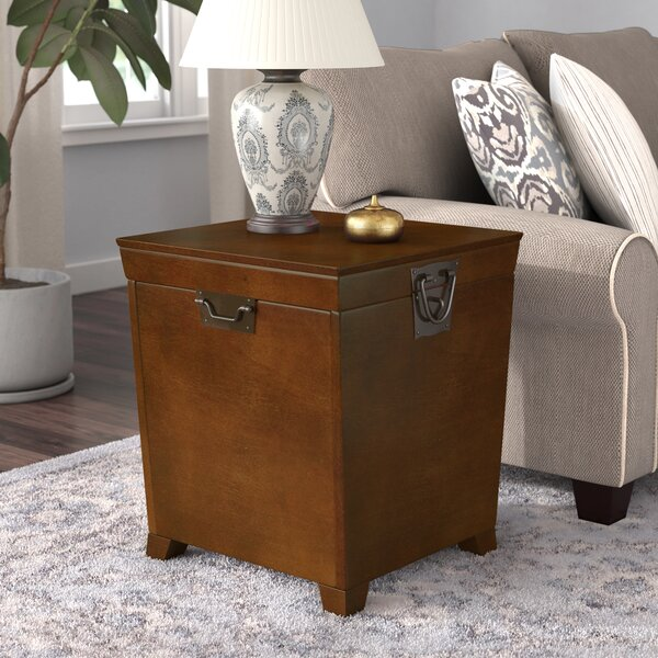 Philo End Table With Storage By Andover Mills