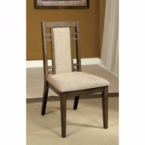 Blatt Upholstered Dining Chair (Set of 2) by Loon Peak