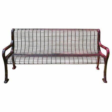 Wire Garden Bench by Leisure Craft