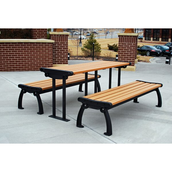 Heritage 3 Piece Picnic Table by Frog Furnishings