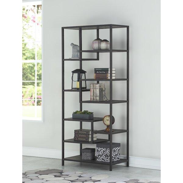 Braylee Geometric Bookcase By Brayden Studio