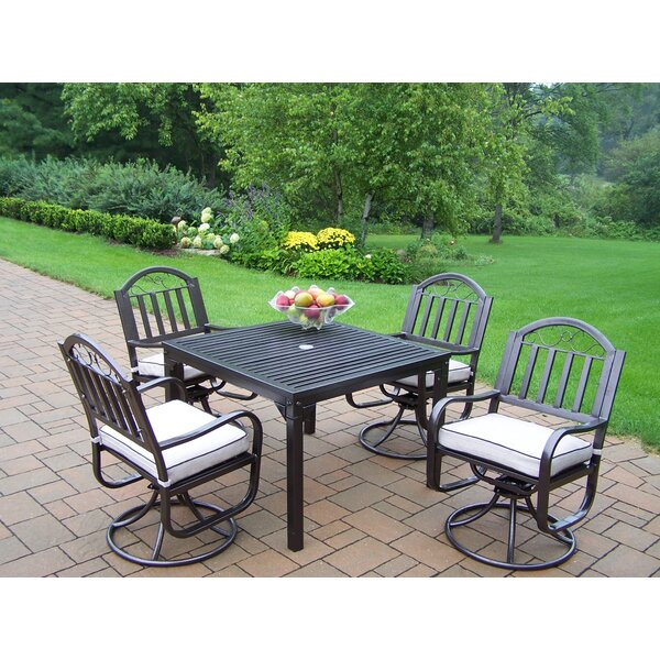 Lisabeth Dining Set with Cushions by Red Barrel Studio