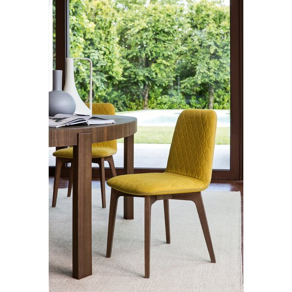 Sami Upholstered Wooden Chair by Calligaris