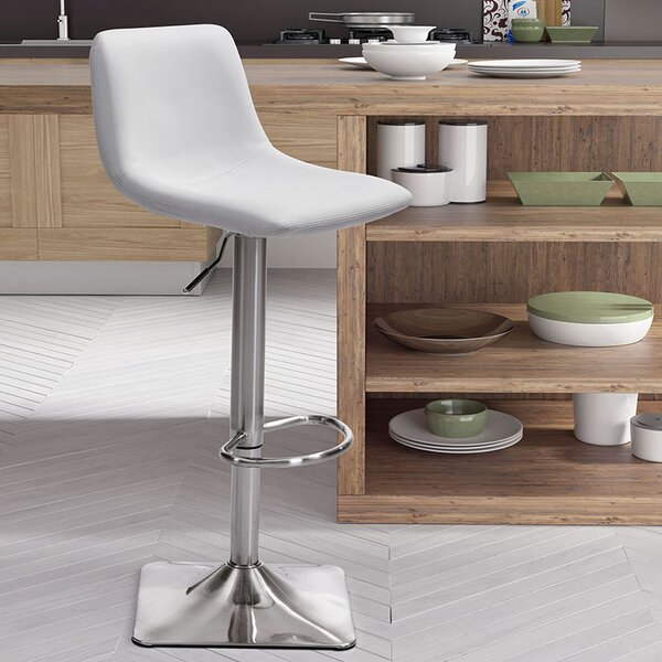 Surprising Vonnie Adjustable Height Swivel Bar Stool By Brayden Studio Gmtry Best Dining Table And Chair Ideas Images Gmtryco