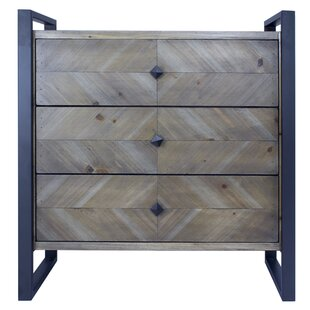 Delphine 3 Drawer Accent Chest