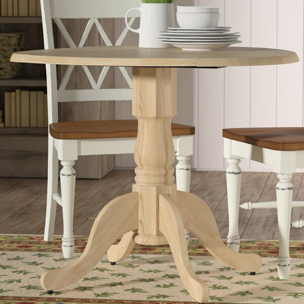 Lynn Dining Table with Dual Drop Leaf by Mistana