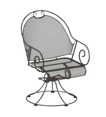 Cantebury Swivel Patio Dining Chair by Woodard