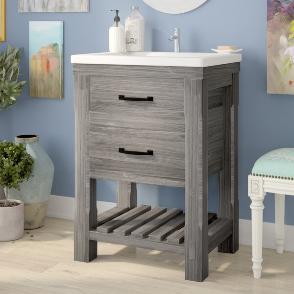 Zaire Rustic 24 Single Bathroom Vanity Set by Gracie Oaks