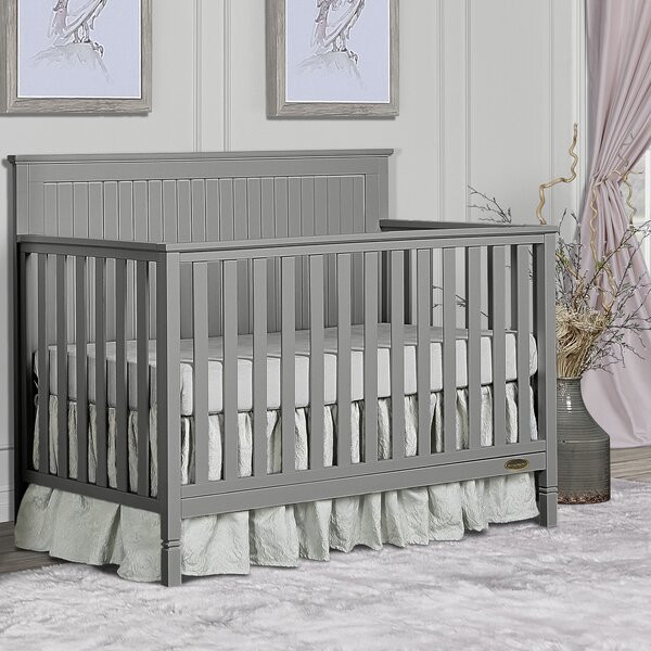 Alexa 5-in-1 Convertible Crib by Dream On Me