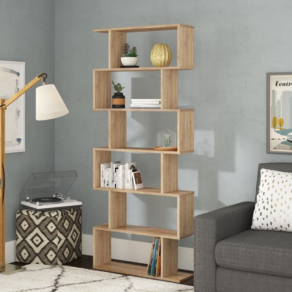 Susann Geometric Bookcase by Wrought Studio