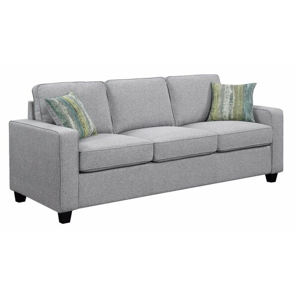 Mcloughlin Wooden 3 Seater Sofa by Ivy Bronx