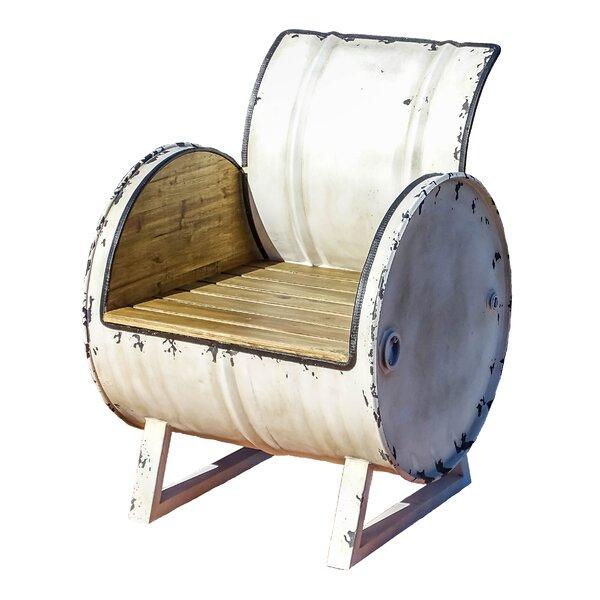 Drum Patio Chair by EsschertDesign