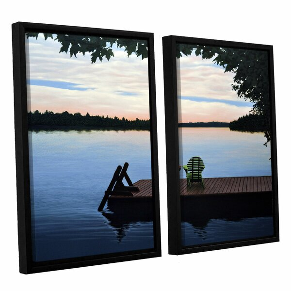 Tranquility by Ken Kirsh 2 Piece Framed Photographic Print Set by ArtWall