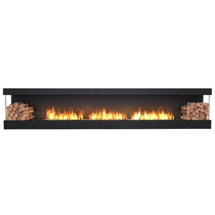 FLEX158-Bay Wall Mounted Bio-Ethanol Fireplace Insert  by EcoSmart Fire