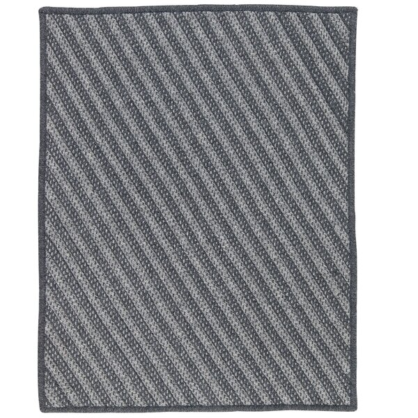 Ommegang Hand-Woven Charcoal Area Rug by Red Barrel Studio