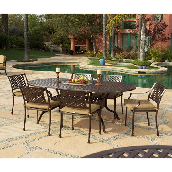 Sierre 7 Piece Dining Set by Art Frame Direct