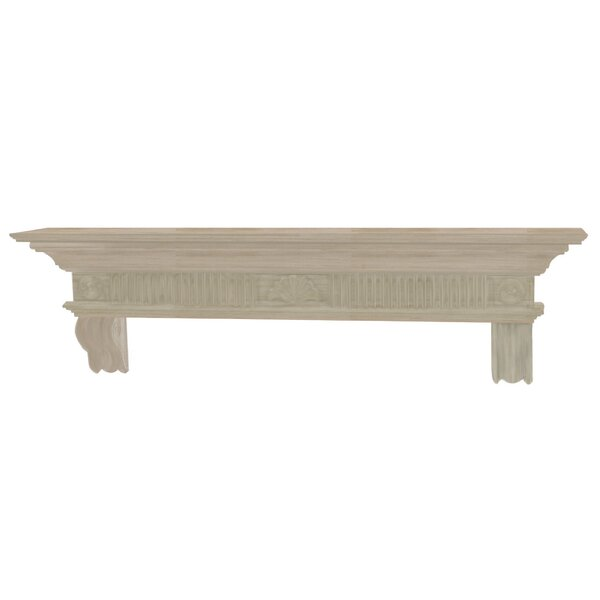 The Devonshire Fireplace Shelf Mantel by Pearl Mantels