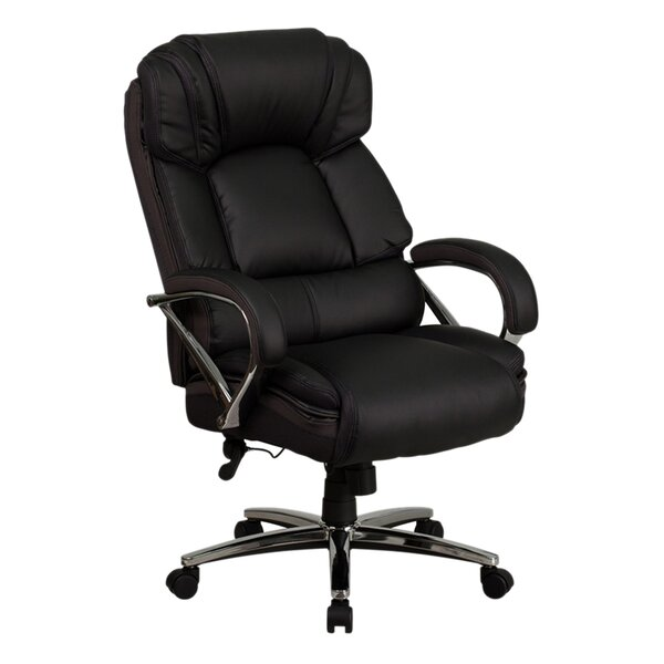 Ash Swivel High-Back Executive Chair by Latitude Run