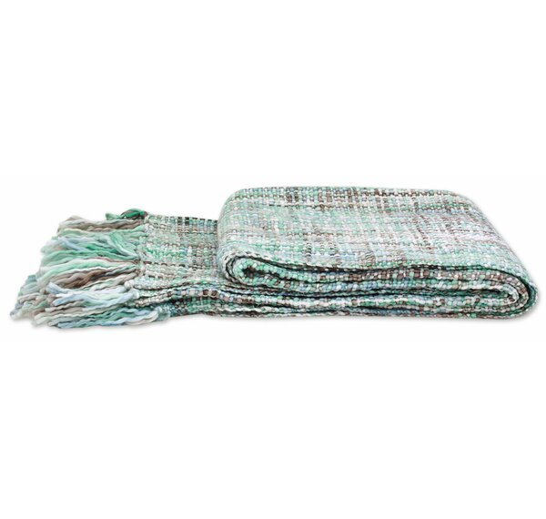 Beauty Throw Blanket by Novica