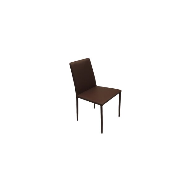 Frame Eco Leather Side Chair by B&T Design