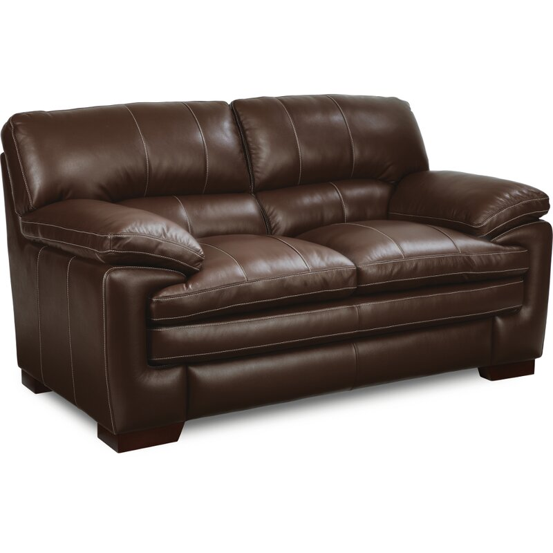 sofa dual center sale leather boy cup lazy reclining loveseat lazyboy holders console with genuine sets