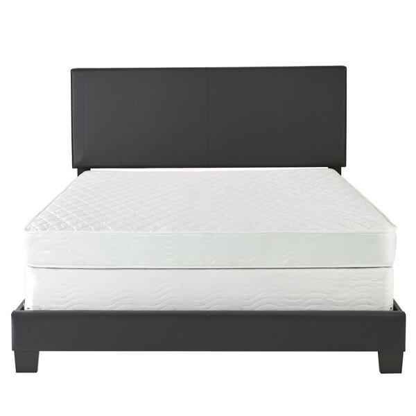 Haskin Padded Upholstered Standard Bed by Latitude Run